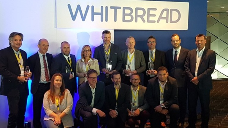 Monaghans, Whitbread Construction Supplier Of The Year 2018